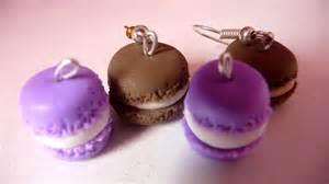 macarons violets en p 226 te fimo
