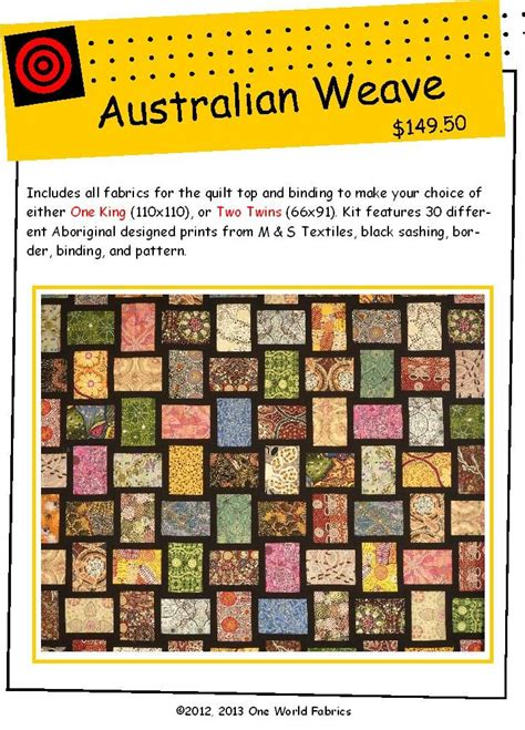 Patchwork Kits Australia - 14 best aboriginal fabric quilts images on