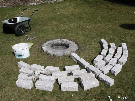 granit feuerstelle bastelseiten seiten f 252 r bastler hobby heimwerker