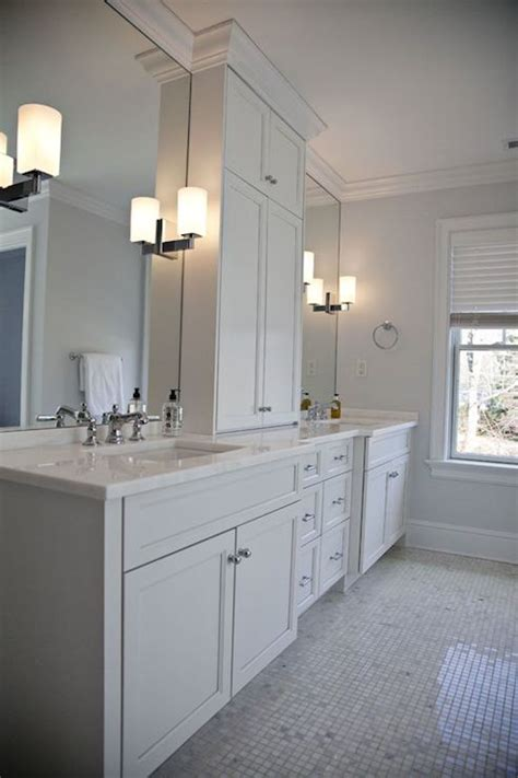 his and her bathroom his and her vanities transitional bathroom integrity