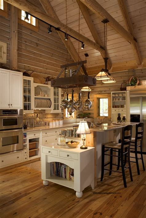 log home kitchen designs 53 sensationally rustic kitchens in mountain homes