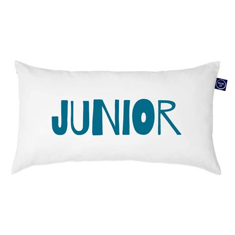 Junior Pillow by Junior One Pillow Quot Junior Quot Mr Mrs Sleep