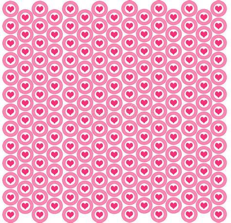 pink wallpaper target heart target background stock illustration illustration
