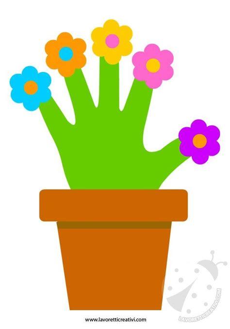 vaso con fiori lavoretti festa mamma vaso con fiori lavoretti creativi