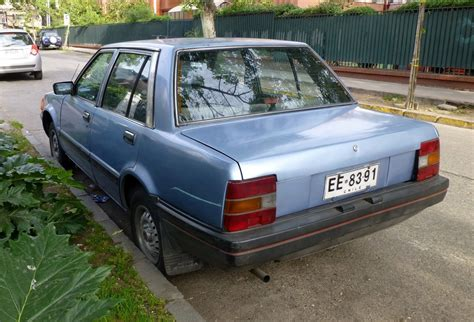 nissan stanza curbside classic 1982 86 nissan stanza well versed