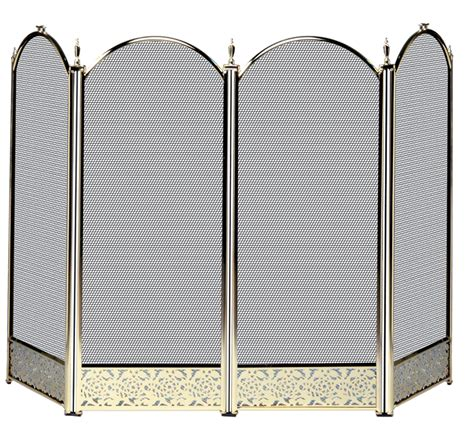 Stainless Steel Fireplace Screen by Stainless Steel Fireplace Screen Pilgrim 39 X 31