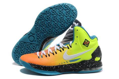 kd 5 basketball shoes rainbow nike basketball shoes cheap nike kd v 5 surf style