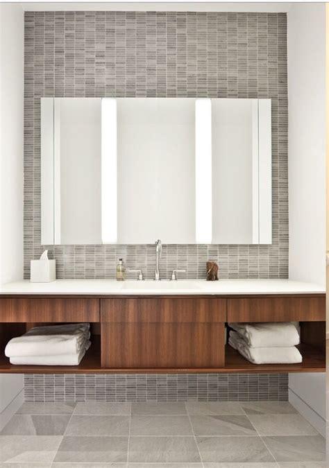 Sook Top Grey bathroom the stack bond tile in grey as an