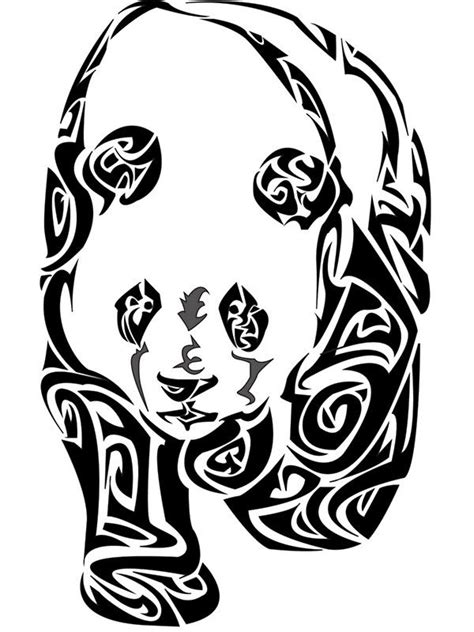 tribal panda tattoo 16 best logo images on logo animal