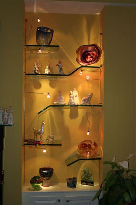 Floating Glass Shelves Kitchen 295 Best Images About Built In Shelves On