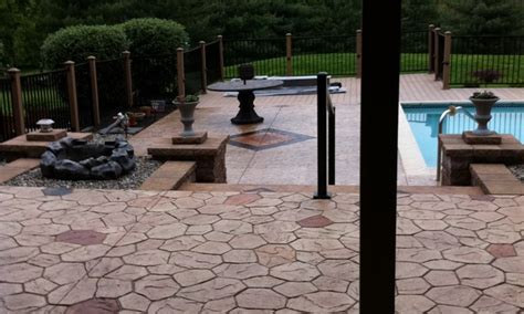 the best sted concrete patio sted concrete patio