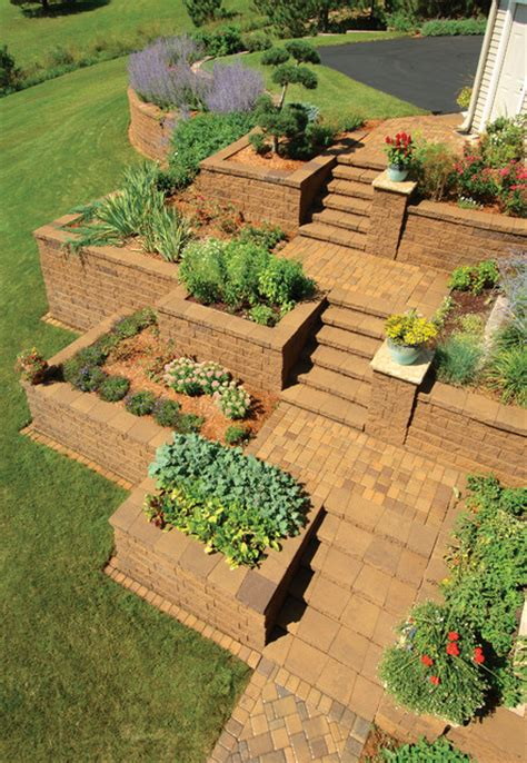 Retaining Walls   Traditional   Landscape   by Versa Lok Retaining Wall Systems