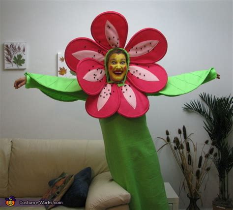 happy blooming flower homemade halloween costume