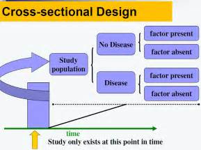 what is the meaning of cross sectional study study design