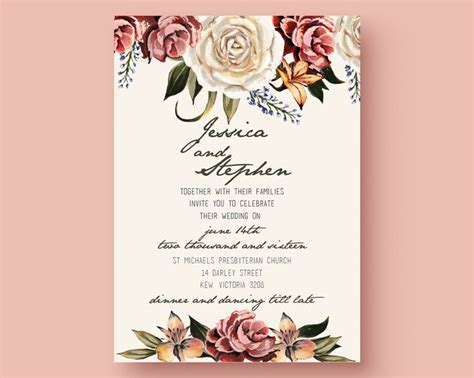 free wedding invitation templates for adobe illustrator 47 best images about printables on pinterest free