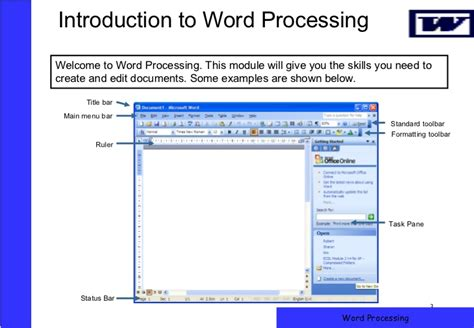 title page microsoft word word processing