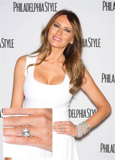 Melania Trump Wedding Ring – 5 most expensive celebrity engagement rings   Top 5 Bin