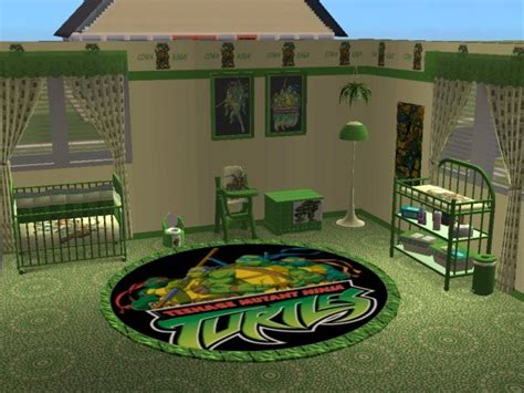 mod the sims mutant turtles nursery and