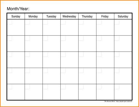printable blank schedules bing