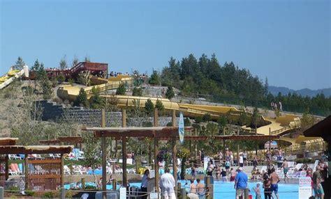 big yellow slide silverwood theme park