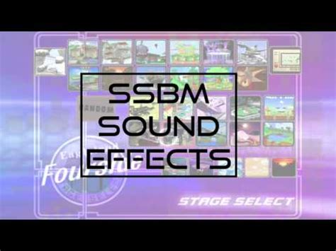 download youtube sound effects super smash bros melee sound effects download link