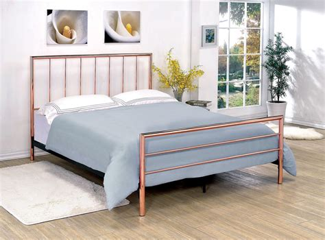 metal bed king diana king metal bed from furniture of america coleman furniture