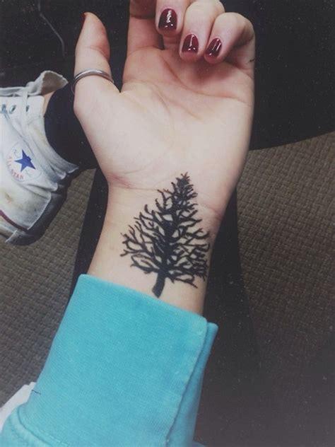 simple  stylish nature tattoos    spirited