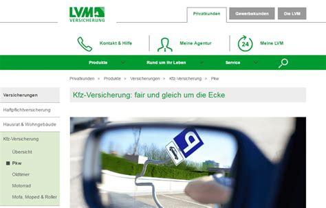 Autoversicherungen Lvm by Lvm Autoversicherung Test Der Gro 223 E Testbericht 2018