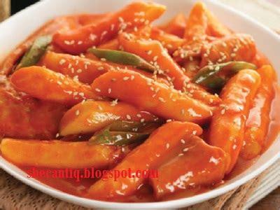 resep makanan membuat toppoki korea sicantik ngeblog