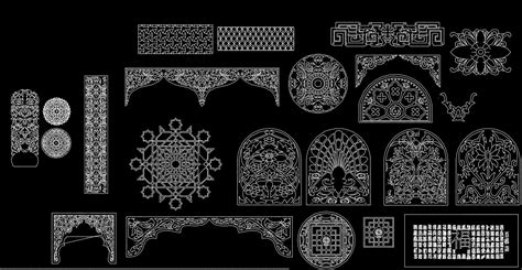 Floor Plans Free Software Chinese Carved 2 Download Cad Blocks Drawings Details 3d