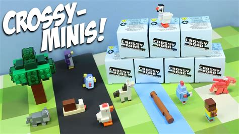 how to get the mystery people on crossy road crossy road mini figurines mystery box collection toys