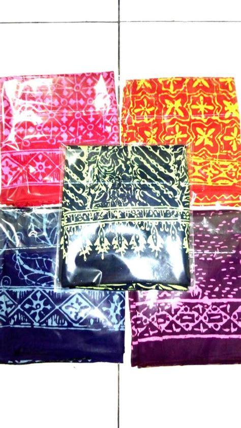 Syal Batik Batik jual syal scarf batik halus suvenir harga grosir murah