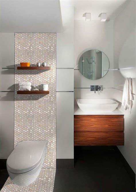 penny  shell mosaic tile bathroom wall mirror tiles