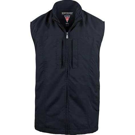 SCOTTeVEST RFID Travel Vest for Men (XL, Navy) RVMXLN B&H