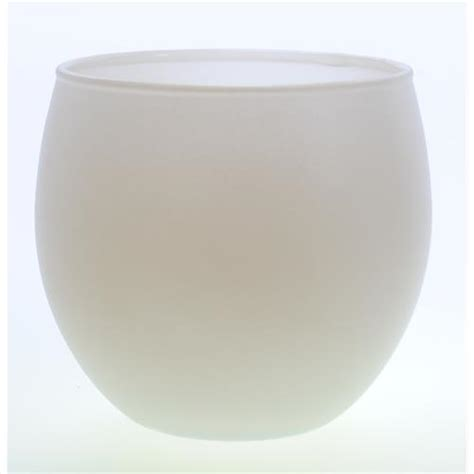 White Votive Holder Wholesale Frosted White Votive Candle Holder Glw