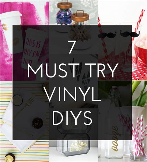 vinyl projects 7 must try adhesive vinyl diys the crafted