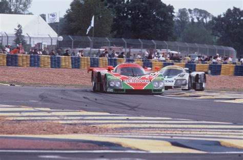 1991 le mans mazda mazda commemorates 1991 le mans win with throwback livery
