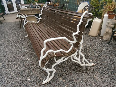 victorian benches antiques atlas victorian cast iron bench