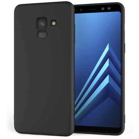 Matte Samsung Galaxy A8 A800 caseflex samsung galaxy a8 2018 matte tpu gel solid black