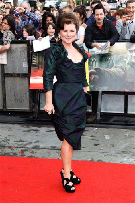 Going To A Harry Potter Premiere Whip Out Some Toe Heels If You Want To Be Like And Co by Imelda Staunton Pictures Harry Potter And The Deathly