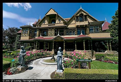winchester house san jose picture photo main facade winchester mystery house san jose california usa