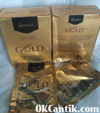 Harga Masker Wajah Gold masker hanasui gold original 100 bpom harga promo hari ini