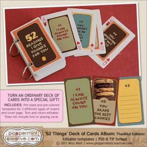 deck of cards valentines template things i about you quotes quotesgram