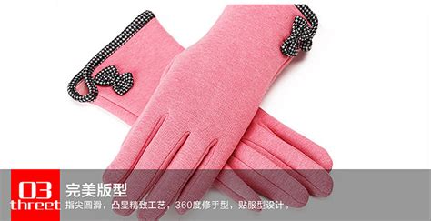 sarung tangan wanita touch screen winter s gloves black jakartanotebook