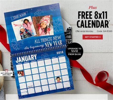 Calendar 2018 Shutterfly Shutterfly Coupon Code 20 Mega Deals And Coupons