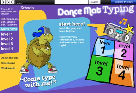 Typing Mat Level 1 by Free Technology For Teachers 7 Resources For Developing