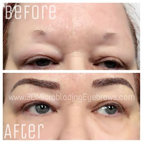 tattoo eyebrows for alopecia 3d microblading eyebrows technique for the perfect