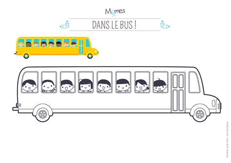 Coloriage Bus Scolaire Momes Net Coloriage A Dessiner A Imprimer Autobus Scolaire L