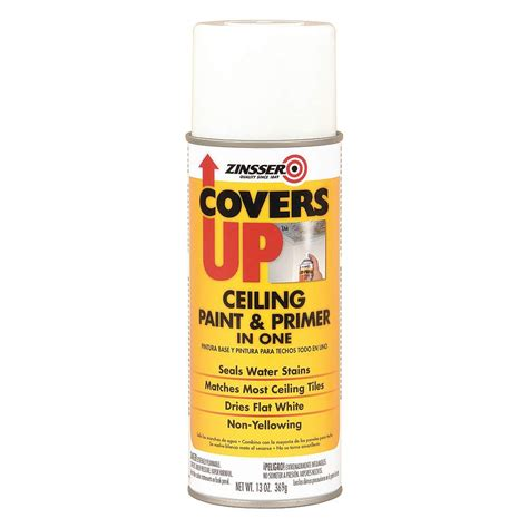 Ceiling Tile Spray Paint by Zinsser 3688 Covers Up Stain Acoustical Ceiling Tile Spray