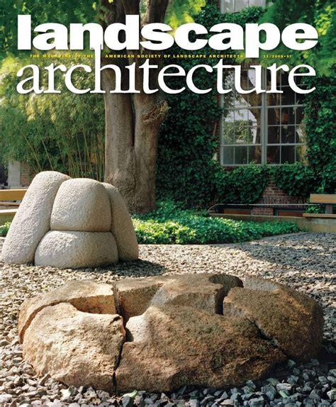 Landscape Architecture Journal New Landscape Architecture Magazine 2012 Landscape
